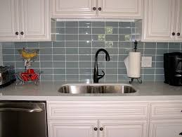 Subway Kitchen Tiles Backsplash Grey Glass Subway Tile Kitchen Backsplash With White Cabinets Jpg