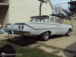 1961 Chevrolet Bel Air 2 DR FLAT TOP id 22887