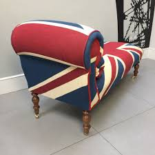 napoleonrockefellercom collectables vintage and painted furniture winston union jack daybedwinston
