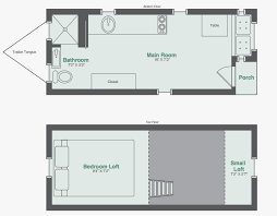 micro homes floor plans fresh monarch tiny homes makes this 8x20 tiny house model