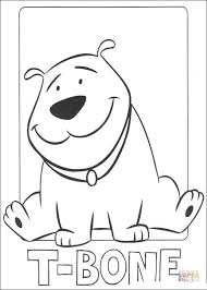 Small Picture T Bone coloring page Free Printable Coloring Pages
