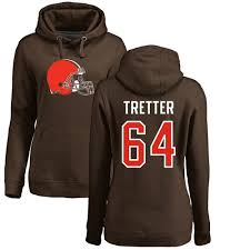 64 Number Nike Hoodie Jc Name Nfl Cleveland Pullover amp; - Tretter Brown Logo Women's Browns|A Patriots Repeat?