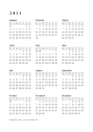 2015 Calendar Printable One Page Shared By Jocelynn Scalsys
