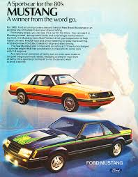 1980 Ford Mustang ad | CLASSIC CARS TODAY ONLINE