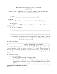Blank Contracts Blank Purchase Contract Complete Guide Example 20