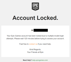 Your Epic Games Account Is Locked Fortnite