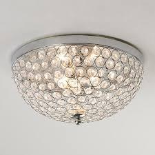 elegant flush mount crystal lighting and regarding ceiling light plan 4