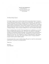 Fashion Design Cover Letter Collection Of Solutions Fashion Design Cover Letter Sample With 8