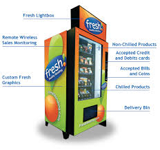 Fresh Food Vending Machines For Sale Simple The Fresh Healthy Vending Machine My Hippie Colleague Pinterest