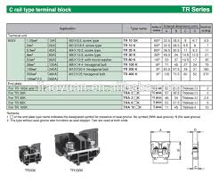 tr200 600v max 100 c rail type terminal block buy kasuga tr200 600v max 100 c rail type terminal block