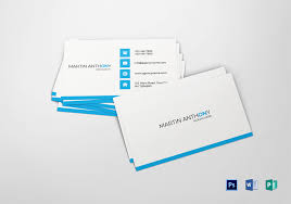 Card Design Template Simple Business Card Template