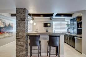Modern Basement Wet Bar Modern Basement Color Ideas Decorating Home
