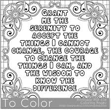 Small Picture Printable Serenity Coloring Page for Adults PDF JPG