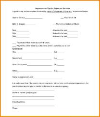 Payment Plan Template Payment Arrangement Agreement Template