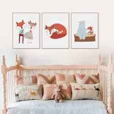 home décor kawaii animals bear fox