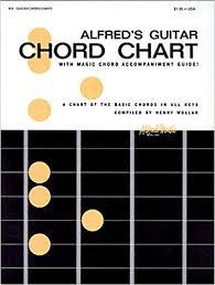 Alfreds Guitar Chord Chart Henry Wollak 9780739014448