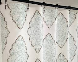 chevron shower curtain bathroom design grey an m l f