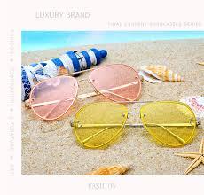 <b>Luxury Aviation Sunglasses Women</b> Brand Designer 2019 Shield ...