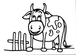 Mucca Disegni Per Bambini Migliori Pagine Da Colorare
