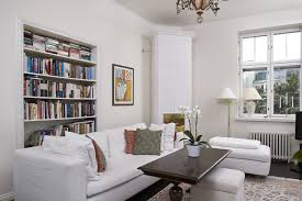 home office library design ideas. Comfy Small Home Library Design Ideas With Nice White Sofa Office
