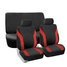 red black car seat covers for sedan suv truck van car 0