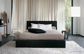 black and white bedroom ideas for young adults. interior:fascinating black white bedroom scheme with decorative pillow and furry rug also cream ideas for young adults