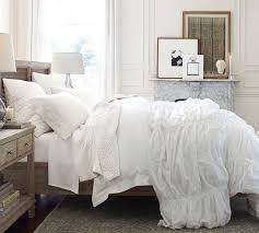Hadley Ruched Duvet Cover & Sham