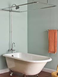 image of clawfoot tub shower fixtures