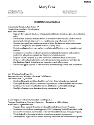 Resume Example Administrative Assistant Sample Administrative