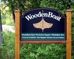 woodenboat school sign