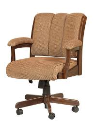 amazing of desk chairs wood with amish edelweiss desk chair with arms