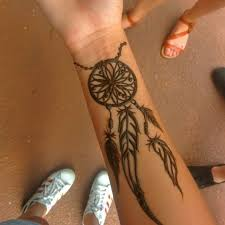 Dream Catcher Tattoo On Wrist