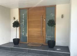 front doors central nj. contemporary oak door with sandblast sidelights more front doors central nj