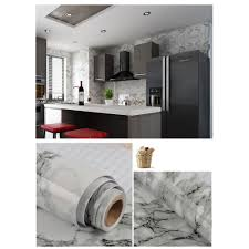 10m Marble Wallpapers <b>Self Adhesive</b> Granite Marble Effect ...