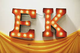 diy carnival marquee letters 3