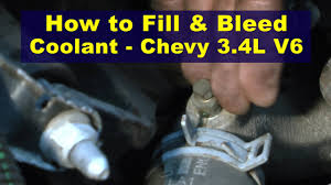 2002 chevy 3 4l engine diagram wiring diagram libraries how to fill u0026 bleed coolant chevy 3 4l v6 2002 chevy 3 4l engine