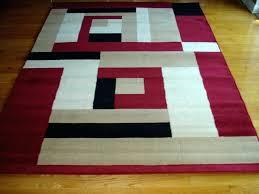 red black white rug beige and white area rug stunning modern red black design carpet new home interior red black grey rugs