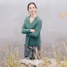 From the Marsh collection: Bristol Ivy's Burke cardi in Lark shown here in  color Aleutian. We couldn't get enoug… | How to start knitting, Pattern,  Cardigan pattern