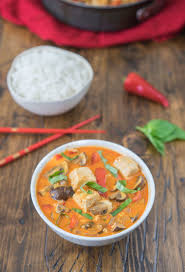Thai Kitchen Yellow Curry Classic Thai Red Curry With Tofu And Mushrooms One Ingredient Chef