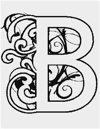 Illuminated Letters Coloring Pages Beautiful Illuminated B Coloring