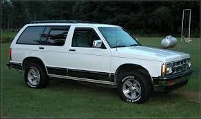 1994 Chevrolet Blazer - Information and photos - ZombieDrive