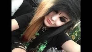 by megan mayhem emo gothic makeup tutorial