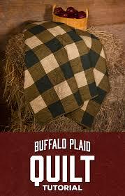Buffalo Plaid Quilt – Man Sewing & Buffalo Plaid Quilt Adamdwight.com