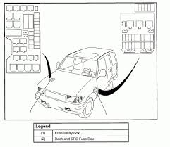 Mesmerizing 1998 isuzu rodeo fuse and relay box diagram pictures