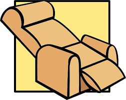 recliner chairs clip art.  Art Royalty Free Recliner Chair Clip Art Intended Chairs V
