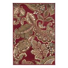 surya rly5020 riley dark red area rug view larger