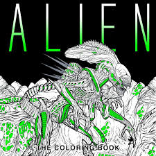 Amazon Com Alien The Coloring Book 9781785653766 Titan Books
