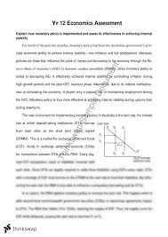 monetary policy implementation and effectiveness essay year  monetary policy implementation and effectiveness essay