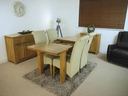 Solid Oak Living Room Furniture Sets Solid Oak Extending Dining Set Table Chairs Oak City