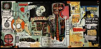 it is this democratic ideal that is proclaimed by basquiat s champion as he enters the stadium of self realization